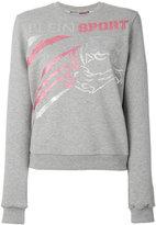 Plein Sport logo print sweatshirt