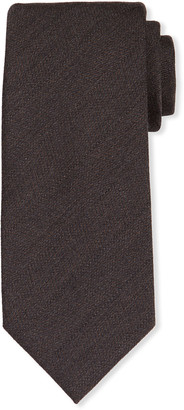 Tom Ford Men's Solid Wool-Silk Tie