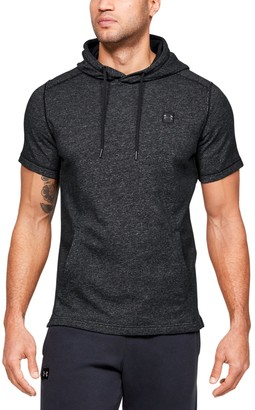 Under Armour Men's UA Speckle Terry Short Sleeve Hoodie