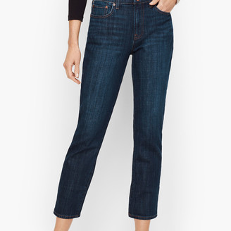 Talbots Modern Ankle Jean - Genuine Dark Wash
