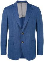 Eleventy two button blazer - men - Silk/Linen/Flax/Cupro/Virgin Wool - 48