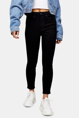 Topshop PETITE Pure Black Jamie Skinny Jeans
