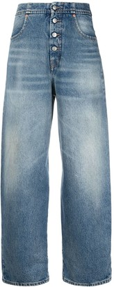 MM6 MAISON MARGIELA High Rise Tapered Jeans