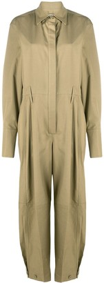 Givenchy Gathered Cuff Boilersuit