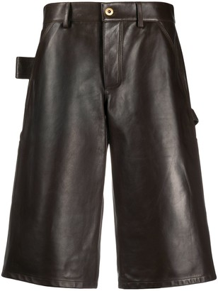 Bottega Veneta knee length shorts