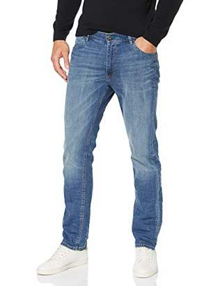 JP 1880 Men's Big & Tall Straight Leg Comfort Waist Stretch Jeans 718213 72