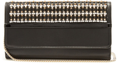 Lanvin Embellished leather clutch