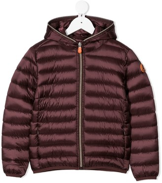 Save The Duck Kids Padded Zip Coat