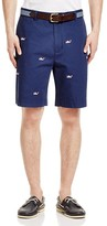 Vineyard Vines Embroidered Whale Chino Shorts