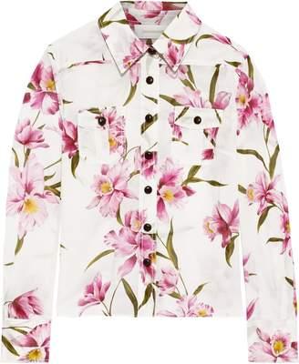 Zimmermann Floral-print Cotton Shirt