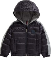 Moncler Fare Nylon Down Hooded Jacket