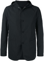 HUGO BOSS hooded button jacket