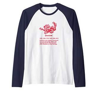 Dragon Optical Year of the Raglan Baseball Tee