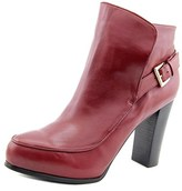 Nicole Miller Flora Women Pointed Toe Leather Ankle Boot.