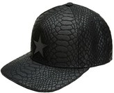Gents Men's Gavin Snapback Cap - Black