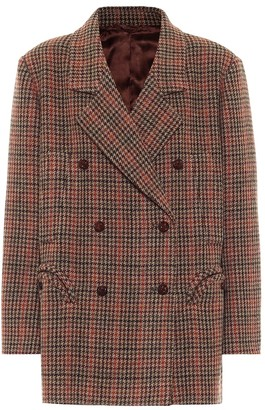 BLAZÉ MILANO Sealady houndstooth virgin wool jacket
