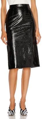 Maison Margiela Pencil Skirt in Black | FWRD