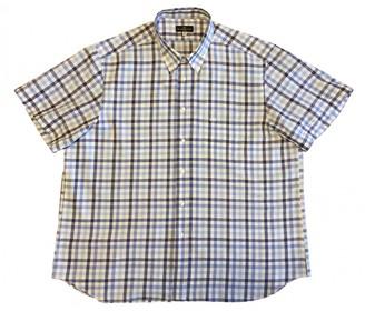 Balenciaga Blue Linen Shirts
