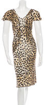 Just Cavalli Cheetah Jersey Dress