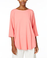 Eileen Fisher Boat-Neck Top