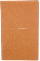 Smythson Leather Address Book