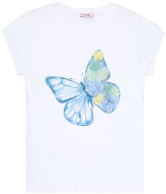 Il Gufo Embellished cotton T-shirt