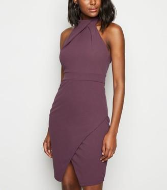 New Look Urban Bliss Light Halterneck Dress