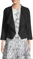 Karl Lagerfeld Women's Waterfall Front Jacket