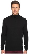 Ben Sherman Long Sleeve Lambswool 1/2 Zip Knit