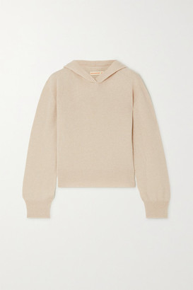 &Daughter Winnie Cashmere Hoodie - Beige
