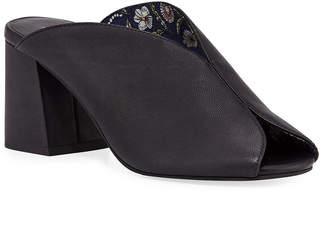 Seychelles Women's Sandals BLACK - Black By the Beach II Leather Sandal - Women