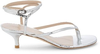 Stuart Weitzman Jimena Leather Sandals