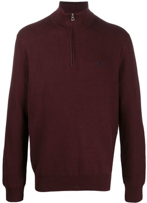 Polo Ralph Lauren Long Sleeve Zipped Sweater
