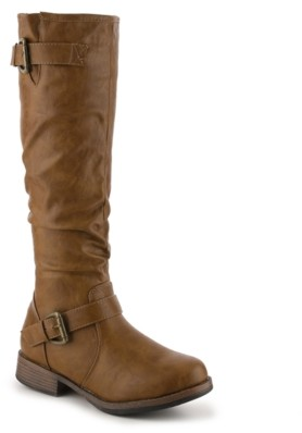 Journee Collection Stormy Wide Calf Riding Boot