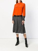 Thumbnail for your product : Chloé Pleated Shirt Dress