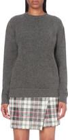 The Elder Statesman RA Crew cashmere jumper