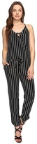 Brigitte Bailey Leigh Spaghetti Strap Jumper with Front Tie Women's Jumpsuit & Rompers One Piece