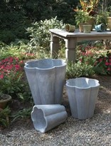The Well Appointed House Fiberclay Lucinda Garden Pots-Set of Three