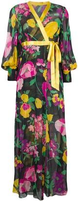 A.N.G.E.L.O. Vintage Cult Floral Dress & Coat