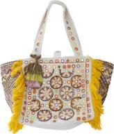 Antik Batik Kino Cabas Embroidered Bag