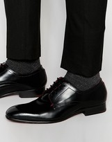 Ted Baker Billay Hi Shine Leather Derby Shoes