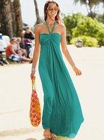 Halter Bra Top maxi dress in solids