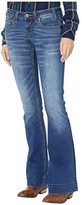 Rock and Roll Cowgirl Trousers in Medium Wash W8-3443 (Medium Wash) Women's Jeans