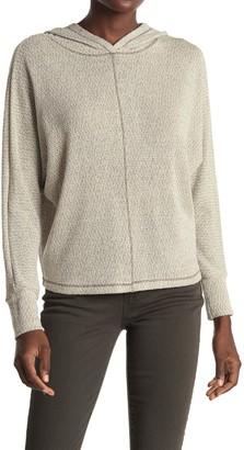 ALL IN FAVOR Dolman Sleeve Hooded Sweater