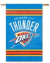 PeepToe Oklahoma Thunder 2-Sided Banner