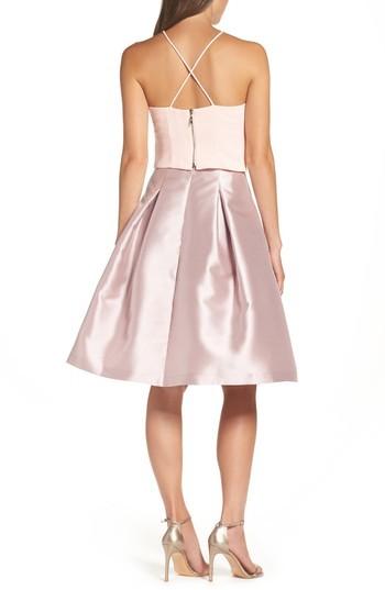 Eliza J Women's Release Pleat Full Skirt