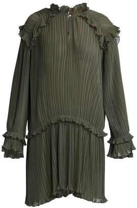 Kenzo Micro-Pleated Dress