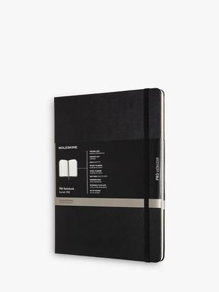 Moleskine Professional Extra Large Journal, Black