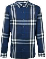 Burberry checked shirt