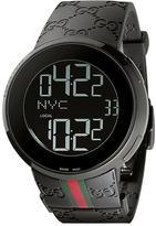 Gucci Digital Collection YA114207 Men's Stainless Steel Digital Watch